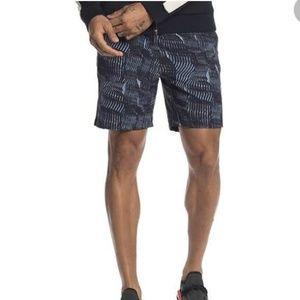NEW Outdoor Voices Rectrek shorts blue terrain